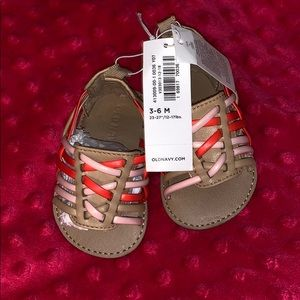 OLD NAVY NWT Baby Girl Gladiator Sandals